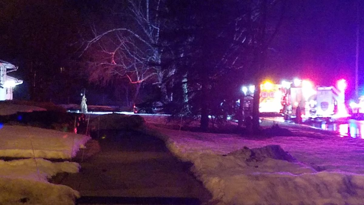 One person was killed early Saturday morning when a car hit a tree.