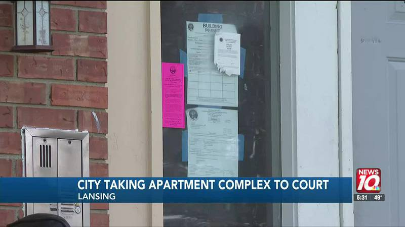City taking apartment complex to court