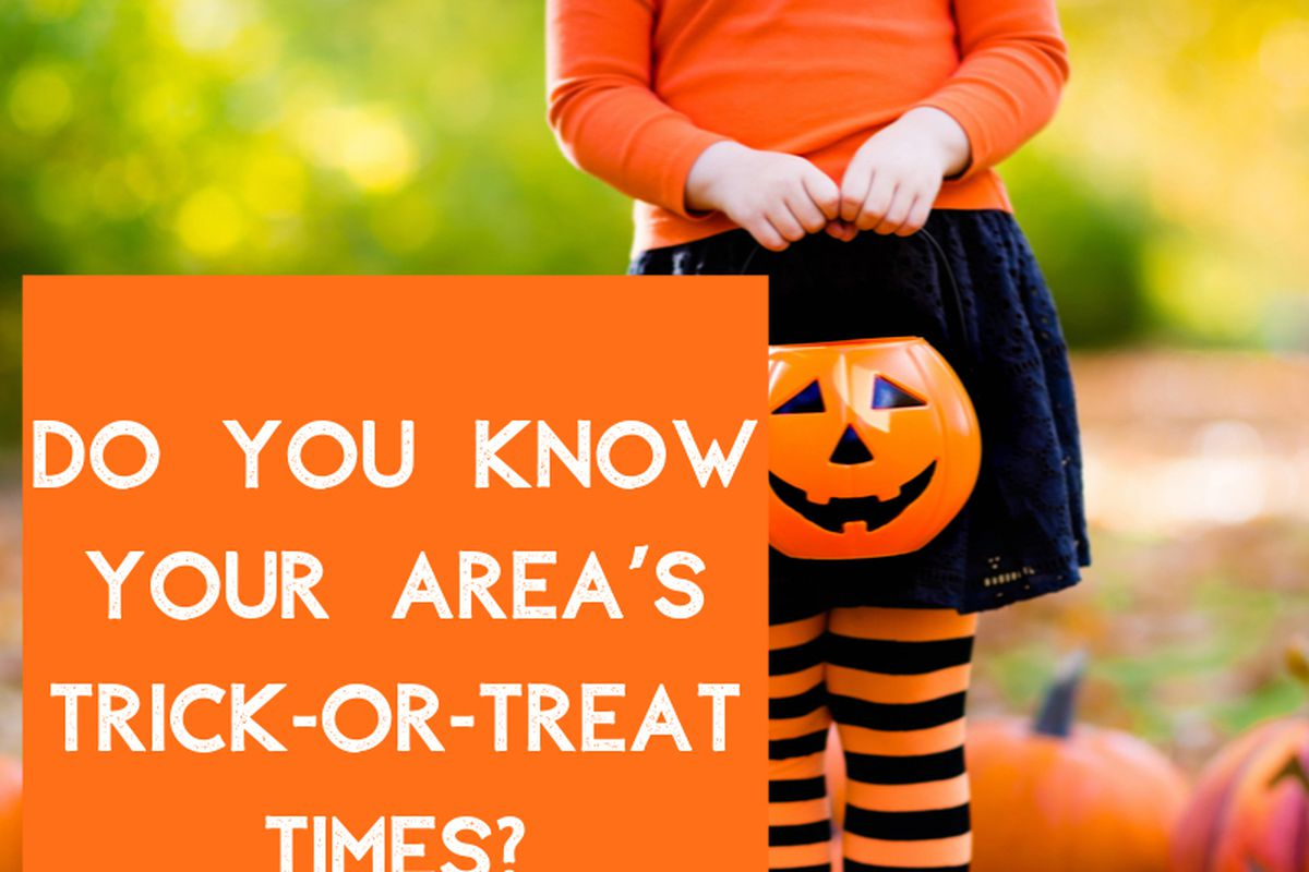 Halloween Trick Or Treating Times In Mid Michigan