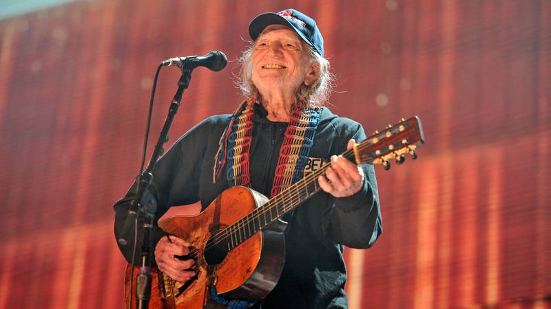 FILE - In this Sept. 19, 2015 file photo, Willie Nelson performs at Farm Aid 30 at FirstMerit...