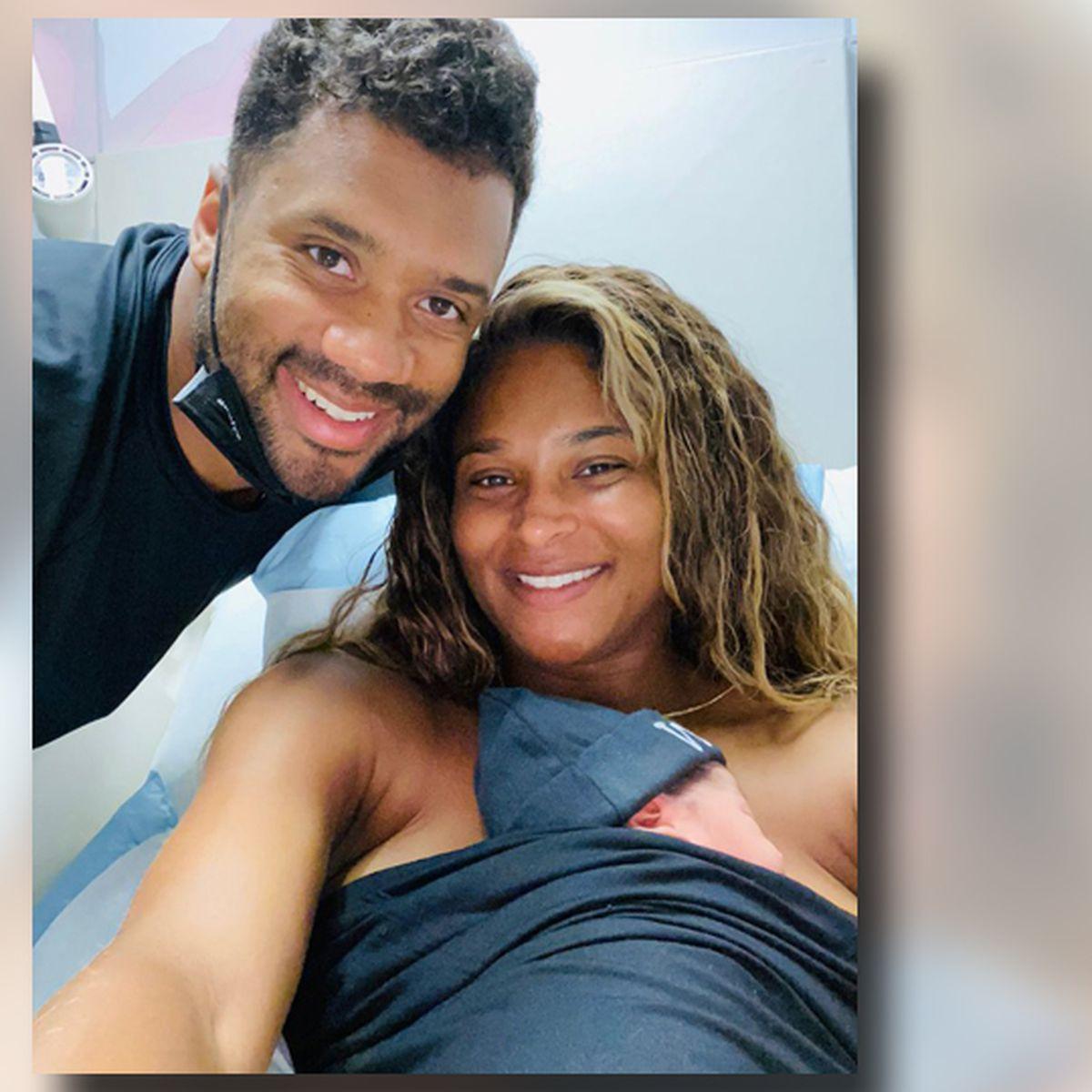 Seahawks Qb Russell Wilson Wife Ciara Welcome Baby Boy
