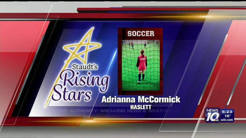 Staudt's Rising Star: Adrianna McCormick